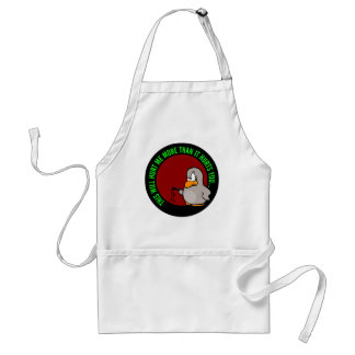 It hurts me to put you on performance improvement adult apron