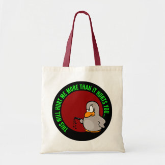 It hurts me to put you on performance improvement tote bag