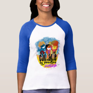 It infects the people with joy t shirt