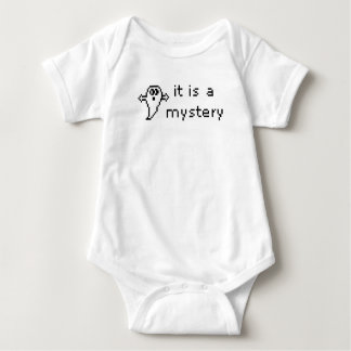 it is a mystery/mystery solved! baby bodysuit
