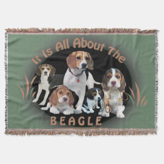 It is All About The Beagle Blanket