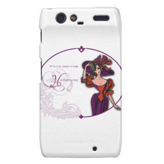 It Is All About the Hattitude Motorola Droid RAZR Cover