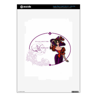 It Is All About the Hattitude iPad 3 Skin