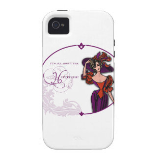 It Is All About the Hattitude Vibe iPhone 4 Cases