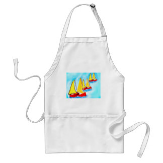 It is always good to remember a boat trip adult apron