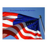 It is an honor ... Veterans Day Postcard