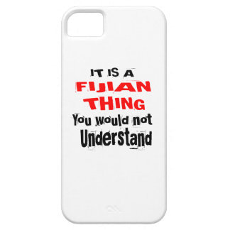 IT IS FIJIAN THING DESIGNS iPhone SE/5/5s CASE