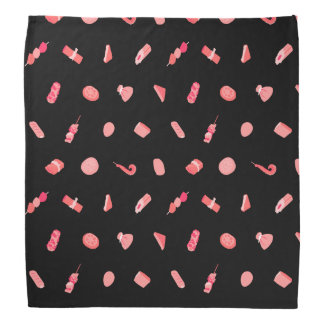 It is funny oden pattern (pink) Oden cute funny Bandana
