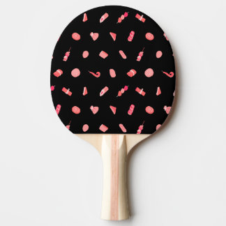 It is funny oden pattern (pink) Oden cute funny Ping Pong Paddle