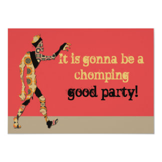 It Is Gonna Be A Chomping Good Party Card