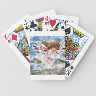 It is good, it does and the national so (causes da bicycle playing cards