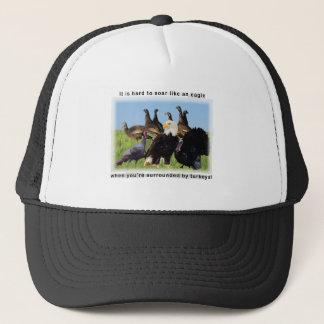 It is hard to soar like an eagle quotation trucker hat