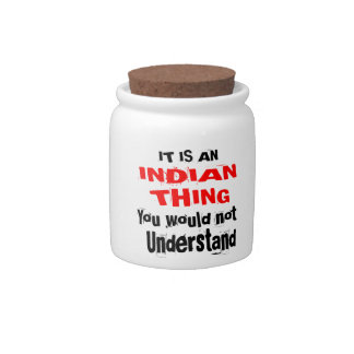 IT IS INDIAN THING DESIGNS CANDY JAR