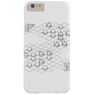 < It is it is dense or, simulation (black) >Sim Barely There iPhone 6 Plus Case