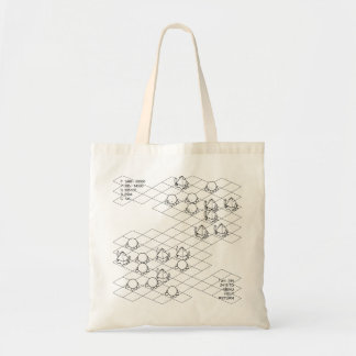 < It is it is dense or, simulation (black) >Sim Tote Bag