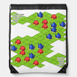 < It is it is dense or, simulation (color) >Sim Drawstring Bag