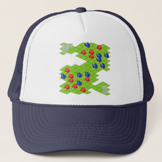< It is it is dense or, simulation (color) >Sim Trucker Hat