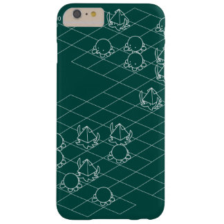 < It is it is dense or, simulation (white) >Sim Barely There iPhone 6 Plus Case