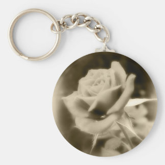 It is Just a Rose Basic Round Button Keychain