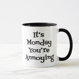 It Is Monday Mug (Black)