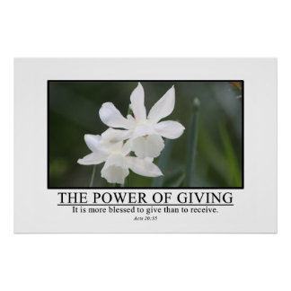 It is more blessed to give than receive print