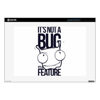 it is not bug  it is feature laptop decals
