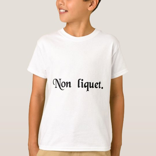 It is not clear. T-Shirt