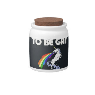 It is not ok to be gay. It is Fabulous Candy Jars