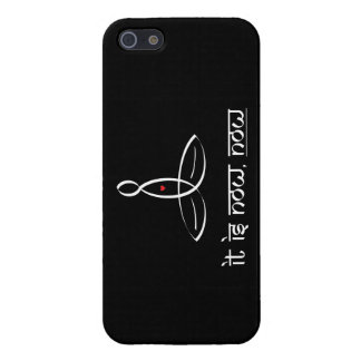 It Is Now, Now - White Sanskrit style Case For iPhone SE/5/5s