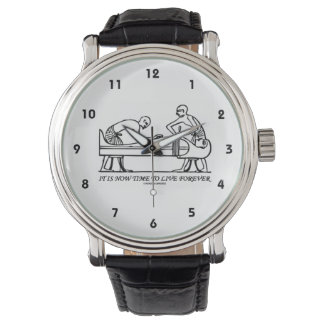 It Is Now Time To Live Forever Egyptian Embalming Wristwatch
