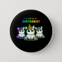 It is OK to be different! Button