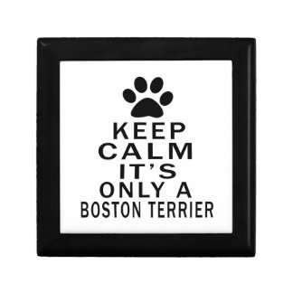 It is only a Boston Terrier Jewelry Boxes