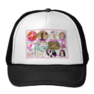 It is prevented Against the Cancer of Breast Trucker Hat