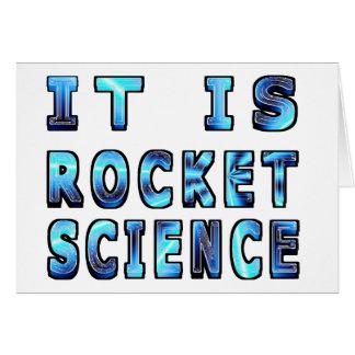 It Is Rocket Science In 3D Card
