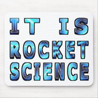 It Is Rocket Science In 3D Mousepad
