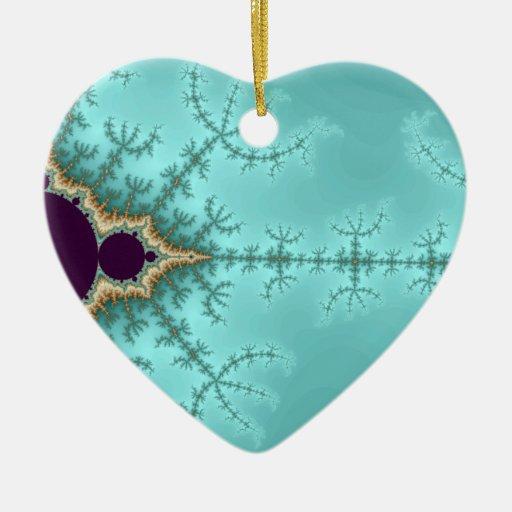 It is spreading - Fractal Ceramic Ornament