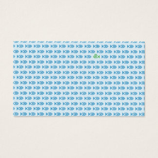 It is surrounded by enemies ON all sides. Blue Business Card