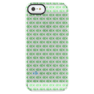 It is surrounded by enemies ON all sides. Green Clear iPhone SE/5/5s Case