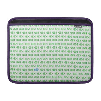 It is surrounded by enemies ON all sides. Green MacBook Sleeve