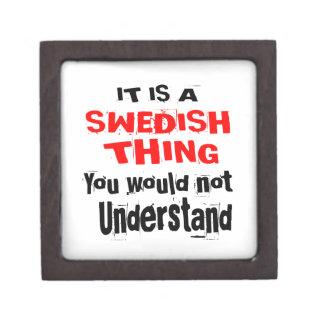 IT IS SWEDISH THING DESIGNS GIFT BOX