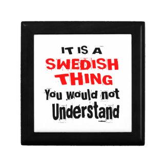 IT IS SWEDISH THING DESIGNS KEEPSAKE BOX
