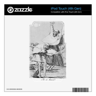 It is Time by Francisco Goya Skins For iPod Touch 4G