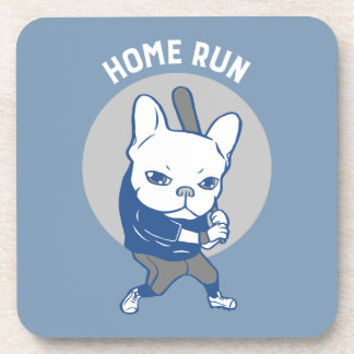 It is time to hit a home run beverage coaster