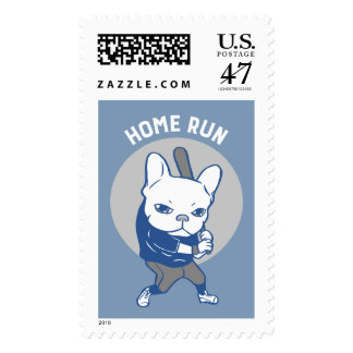 It is time to hit a home run postage