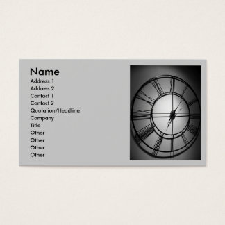 IT IS TIME TO MAKE MONEY BUSINESS CARD