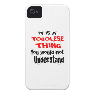 IT IS TOGOLESE THING DESIGNS iPhone 4 COVER