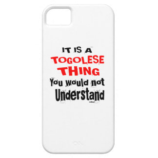 IT IS TOGOLESE THING DESIGNS iPhone SE/5/5s CASE
