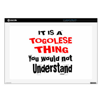 IT IS TOGOLESE THING DESIGNS LAPTOP DECAL