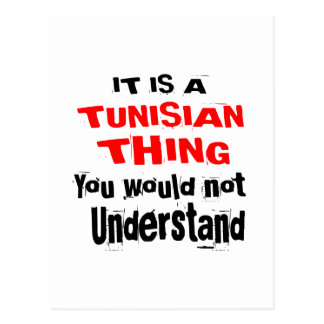 IT IS TUNISIAN THING DESIGNS POSTCARD