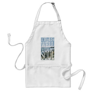 It Is Well Adult Apron